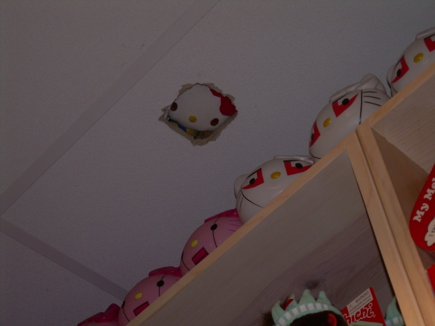 Ceiling Hello Kitty